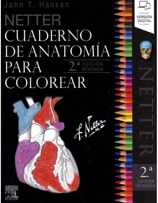 Cuaderno de anatomía para colorear