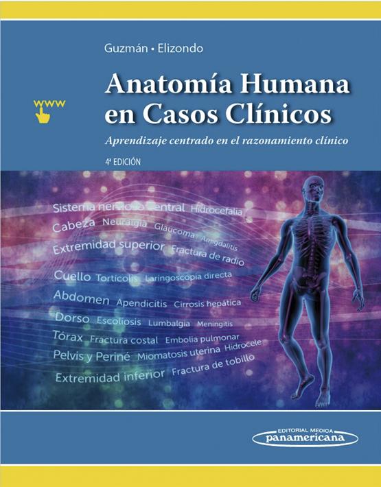 Anatomía humana en casos clínicos