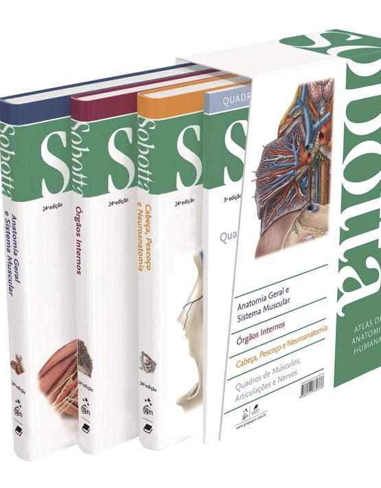 SOBOTTA. Atlas de anatomía humana 3 vols. + Acceso Online