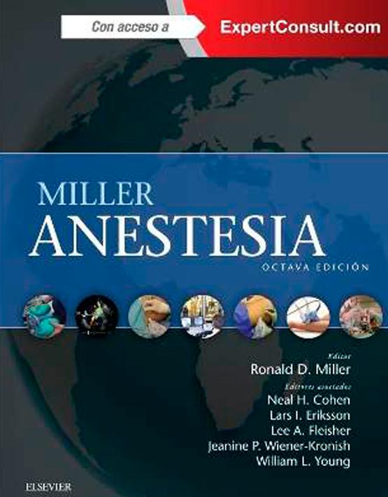 Miller - Anestesia (+ ExpertConsult) 2 vols.