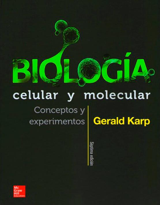 Karp-Biología celular y molecular