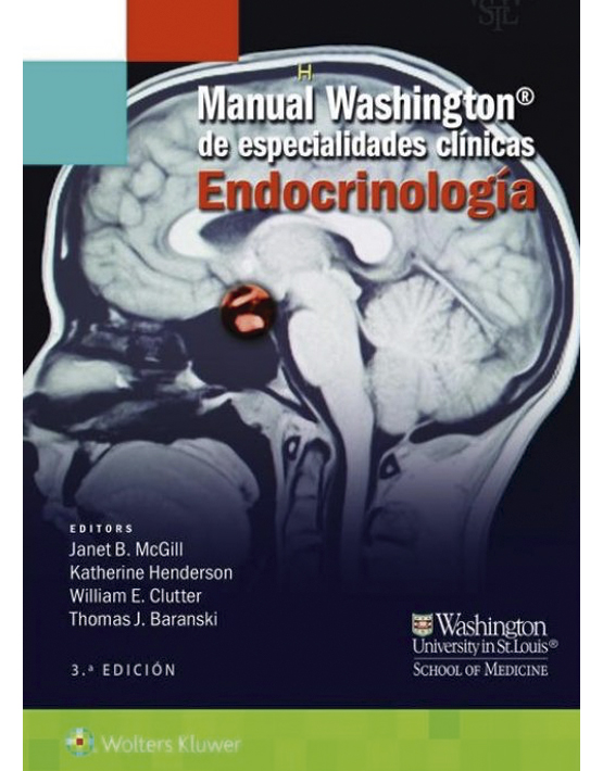Manual Washington de especialidades clínicas. Endocrinología