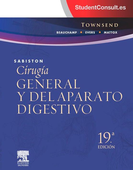 Sabiston Cirugía general y del aparato digestivo