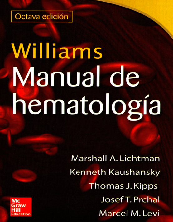 Williams Manual de Hematología