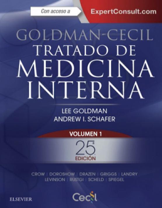 Goldman-Cecil Tratado de medicina interna 2vols.