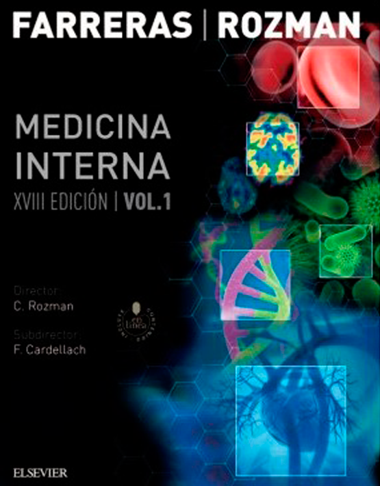 Farreras Rozman. Medicina Interna 2vols. (+ StudentConsult en español)