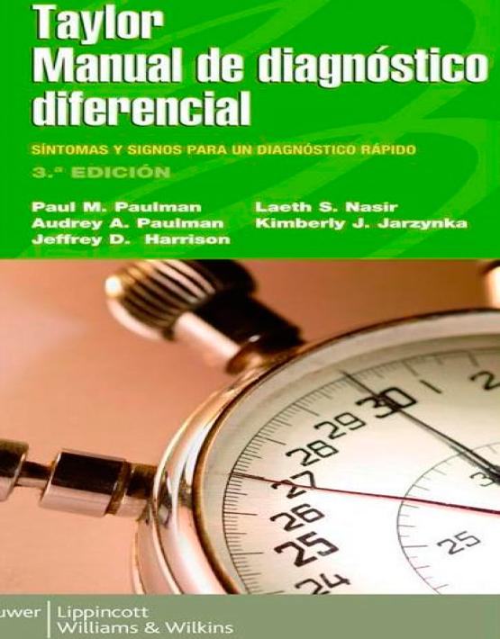 Taylor Manual de diagnóstico diferencial