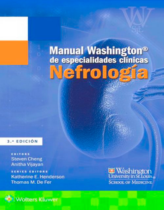 Manual Washington de especialidades clínicas. Nefrología