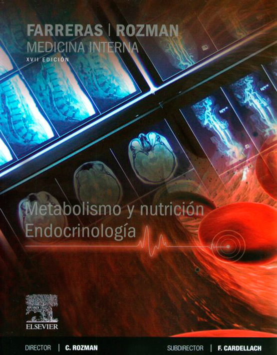 Farreras y Rozman Metabolismo y nutrición. Endocrinología